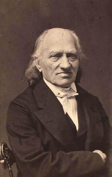Portræt af Joh. Chr. Gebauer