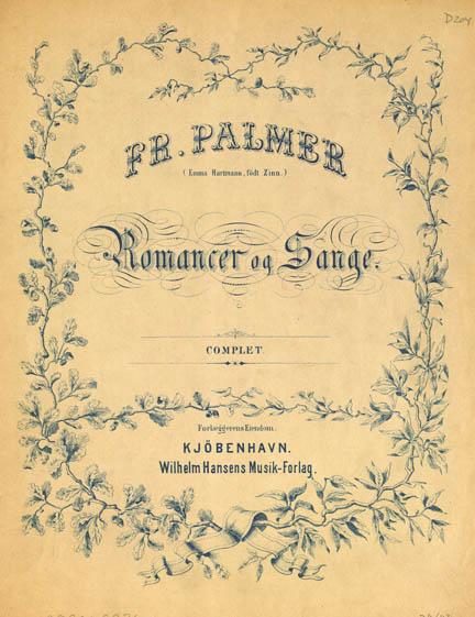Titelblad fra Romancerne 1882