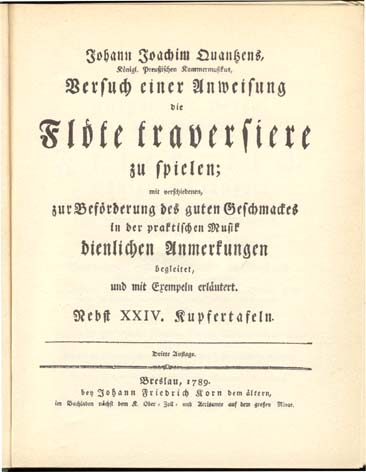 Titelbladet til udgaven fra Breslau 1789