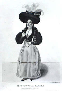 Ida da Fonseca i rollen som Pamela