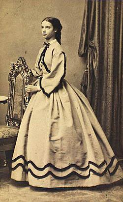 Portræt af den unge prinsesse. Klik for større billede