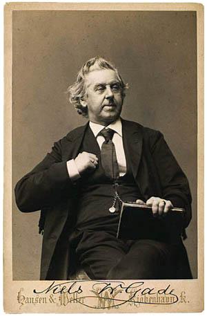 Portræt af Niels W. Gade