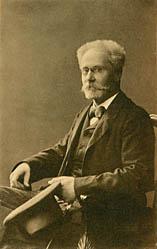 Portrætfoto af Johan Borup. Klik for større billede