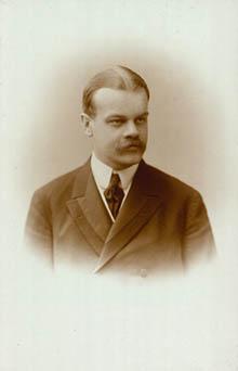 Portræt af Hakon Børresen
