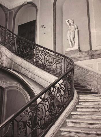 Trappe i Dehns Palæ
