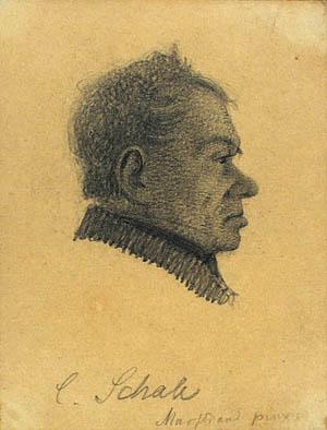 Portræt af Claus Schall