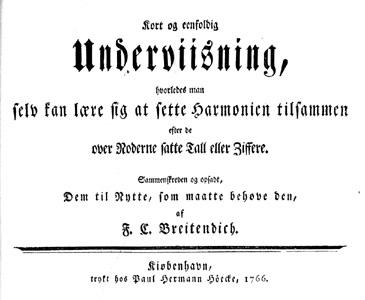 Titelblad fra harmonilærebogen