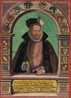 Portræt af Tycho Brahe