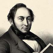Portræt af Johan Ludvig Heiberg