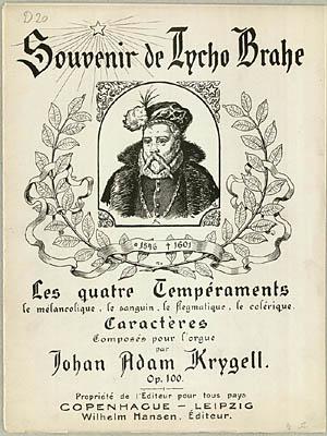 Titelblad til J.A. Krygells samling. Klik for større billede