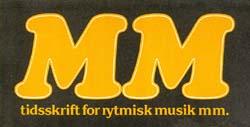 Tidsskriftet MM's logo. Klik for større billede