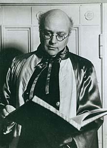 Portræt af Jørgen Bentzon