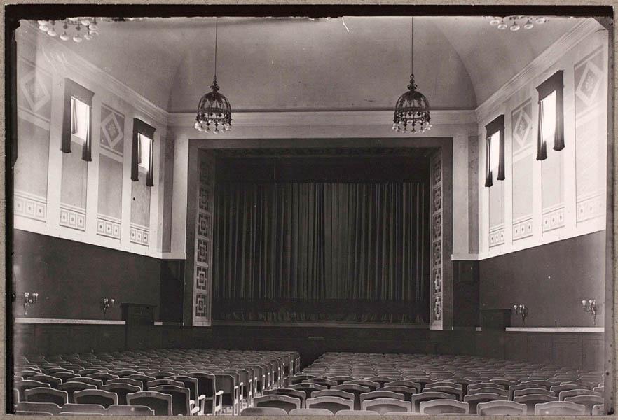 Interiør fra Paladsteatret