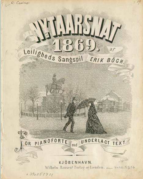 Titelblad: Nytaarsnat 1869