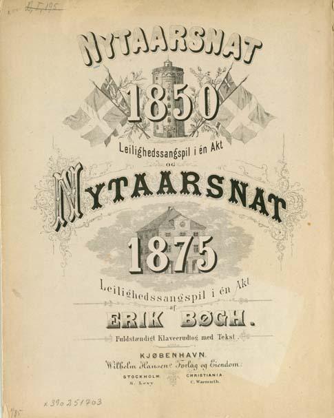 Titelblad: Nytaarsnat 1850