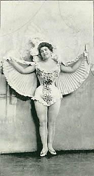 Dagmar Hansen i kostume