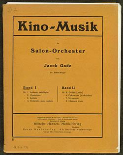 Forside til 'Kino-Musik' med musik til stumfilm. Klik for større billede