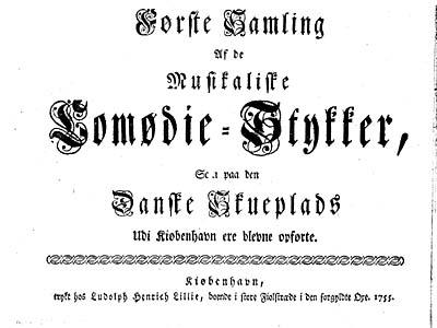 Titelblad fra 1. samling