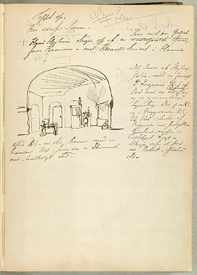 Sceneanvisninger til Hans Heiling. Klik for større billede