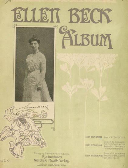 Titelbladet til Ellen Beck album