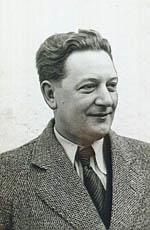 Portræt af Johan Hye-Knudsen. Klik for større billede