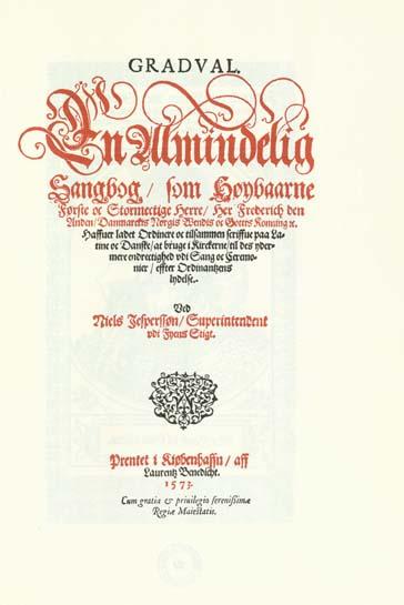 Titelblad til Gradualet