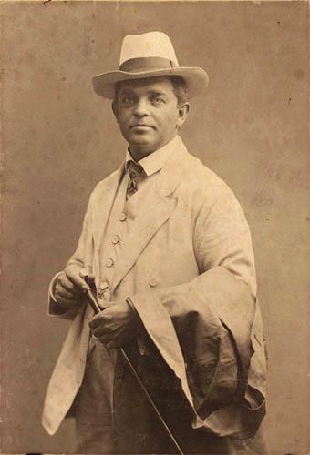 Portræt af Carl Nielsen, ca. 1908