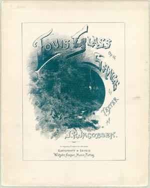 Forsiden af Louis Glass, op. 16