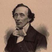 Portræt af H.C. Andersen