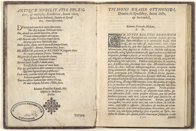 Tycho Brahe: De Nova Stella, 1573, 2