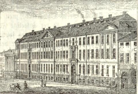 Almindelig Hospital, Amaliegade