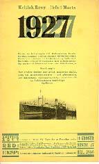 Forside af 1927, hefte 1